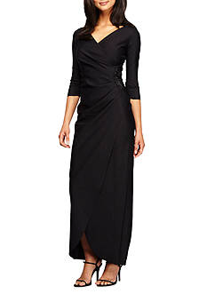 Alex Evenings Bead Embellished Gown
