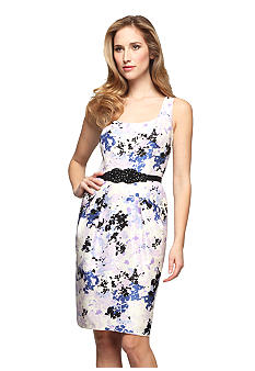 Alex Evenings Sleeveless Printed Dress