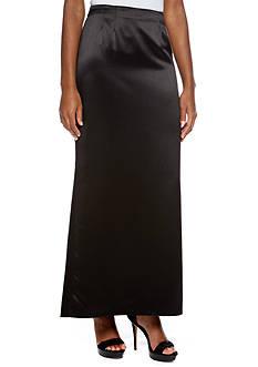 Alex Evenings Long Skirt with Fishtail Back Hem