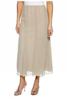 Alex Evenings T-Length Paneled Skirt
