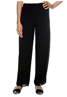 Alex Evenings Pleated Waist Detail Pant