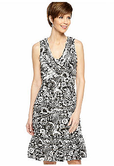 Robbie Bee Petite Sleeveless Eyelash Sheath Dress