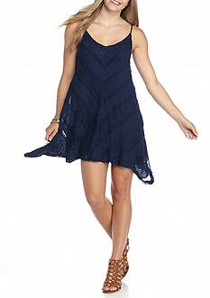 City Triangles Mitered Slip Dress