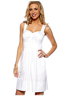Donna Ricco New York Sleeveless A-Line Sundress