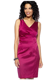 Donna Morgan Sleeveless Embellished Strap Dress