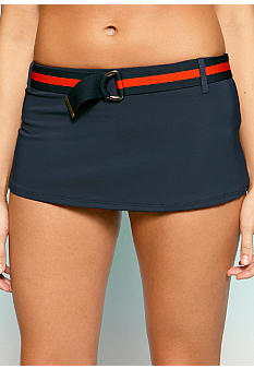 Tommy Hilfiger Belted Swim Skirt