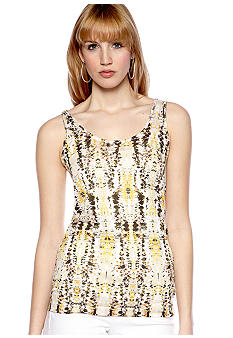 TWO by Vince Camuto Mosaic Tank Top