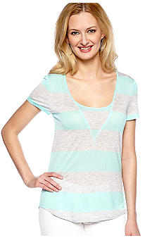 TWO by Vince Camuto Cabana Stripe Tee