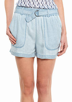 TWO by Vince Camuto Belted Cargo Shorts