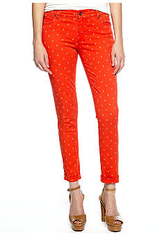 TWO by Vince Camuto Shorty Floral Star Jean
