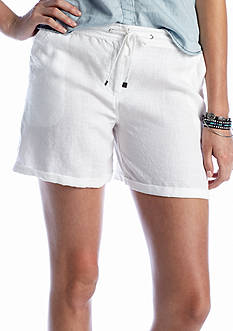 TWO by Vince Camuto Linen Drawstring Short