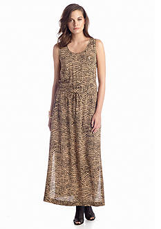 TWO by Vince Camuto Squiggle Maxi Dress