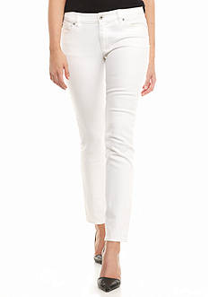 TWO by Vince Camuto Five Pocket Slim Leg Jeans