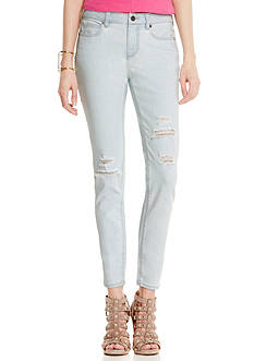 Vince Camuto Ripped Skinny Jeans
