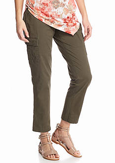 TWO by Vince Camuto Cotton Chino Cargo Pants