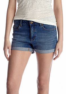 TWO by Vince Camuto Five Pocket Rolled Short