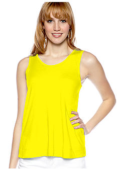 TWO by Vince Camuto Jersey Tank with Rayon Back