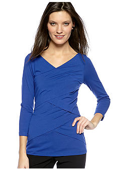 Vince Camuto Three Quarter Sleeve Bandage Top