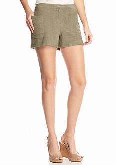 Vince Camuto Faux Suede Shorts