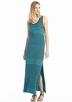 Vince Camuto Adobe Stripe Tank Maxi Dress