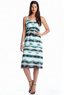 Vince Camuto Linear Echoes Dress