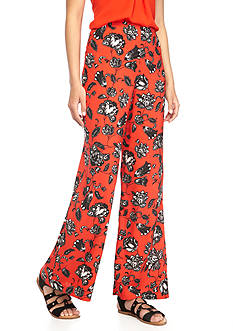 Vince Camuto Floral Wide Leg Pants