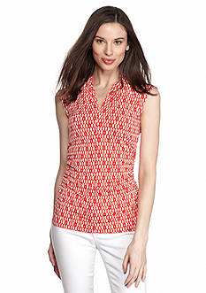 Vince Camuto Diamond Ruch Side Top