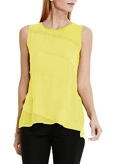 Vince Camuto Diagonal Layer Top