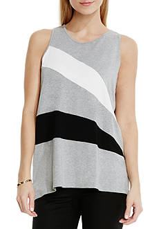 Vince Camuto Colorblock Inset Tank