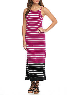 Vince Camuto Stripe Knit Maxi Dress