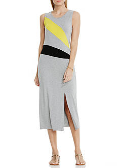 Vince Camuto Colorblock Midi Dress