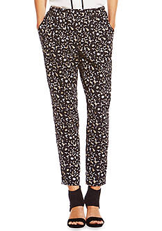 Vince Camuto Leopard Pleated Pant