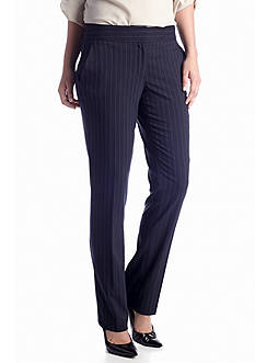 Vince Camuto Front Zip Straight Leg Trouser