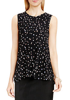 Vince Camuto Animal Pop Ruffle Blouse