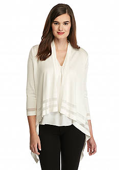 Vince Camuto Drape Front Cardigan