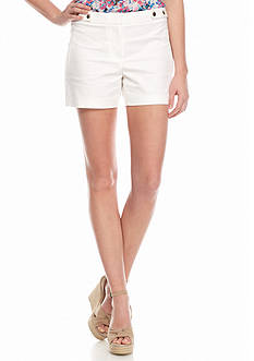 Vince Camuto Snap Detail Shorts