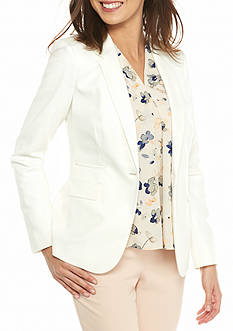 Vince Camuto Single Button Front Blazer