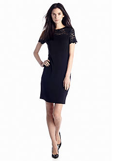 Vince Camuto Cap Sleeve Lace Dress