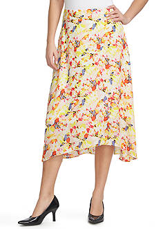 CHAUS Print Skirt