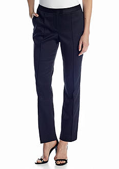 CHAUS Puckered Novelty Ankle Pant