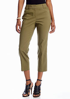CHAUS Angle Pocket Crop Pant