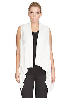 CHAUS Sleeveless Sweater Vest