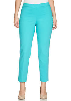 CHAUS Solid Ankle Pants
