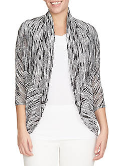 CHAUS Dolman Sleeve Cardigan Sweater