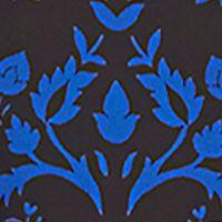 Chaus Women Sale: Cobalt CHAUS Damask Pintuck Blouse