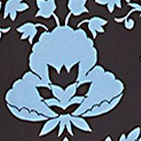 Chaus Women Sale: Blue Dusk CHAUS Damask Pintuck Blouse