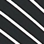 Chaus Women Sale: Gray CHAUS Striped Three Quarter Sleeve Knit Top