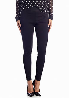 CHAUS Black Ponte Legging