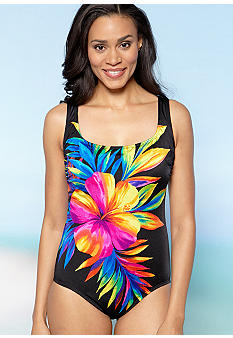 Longitude Super Flower One Piece Tank
