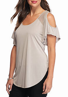 Jessica Simpson Carly Cold Shoulder Top